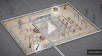 Автоматизация электрической подстанции - пример 3D анимации